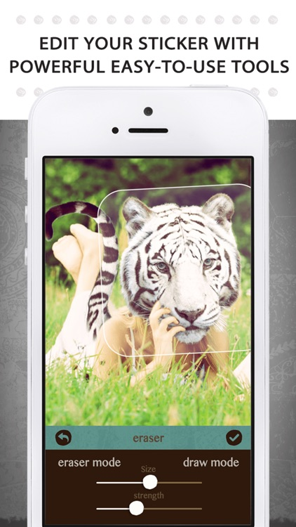 Animal Face - Cat stickers for your photos and more screenshot-4