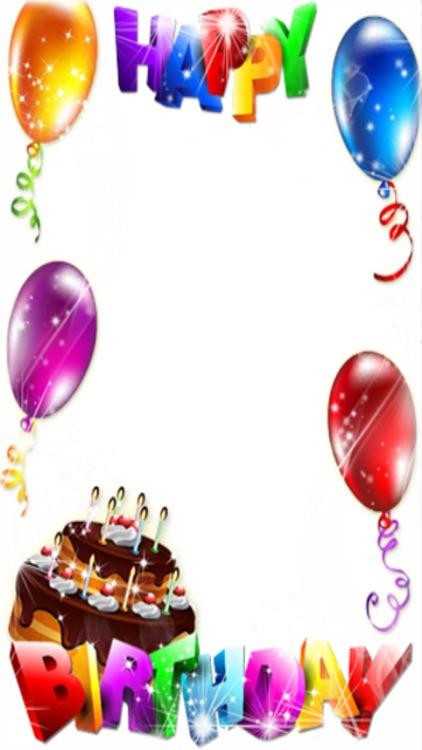Birthday Frames - FREE