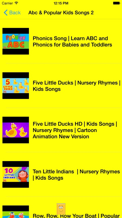 ABC 123 Nursery Rhymes and Songs screenshot-3