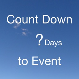 CountDown to Event for share to SNS