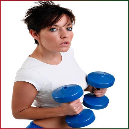 FitnessGirlPhotoMontage