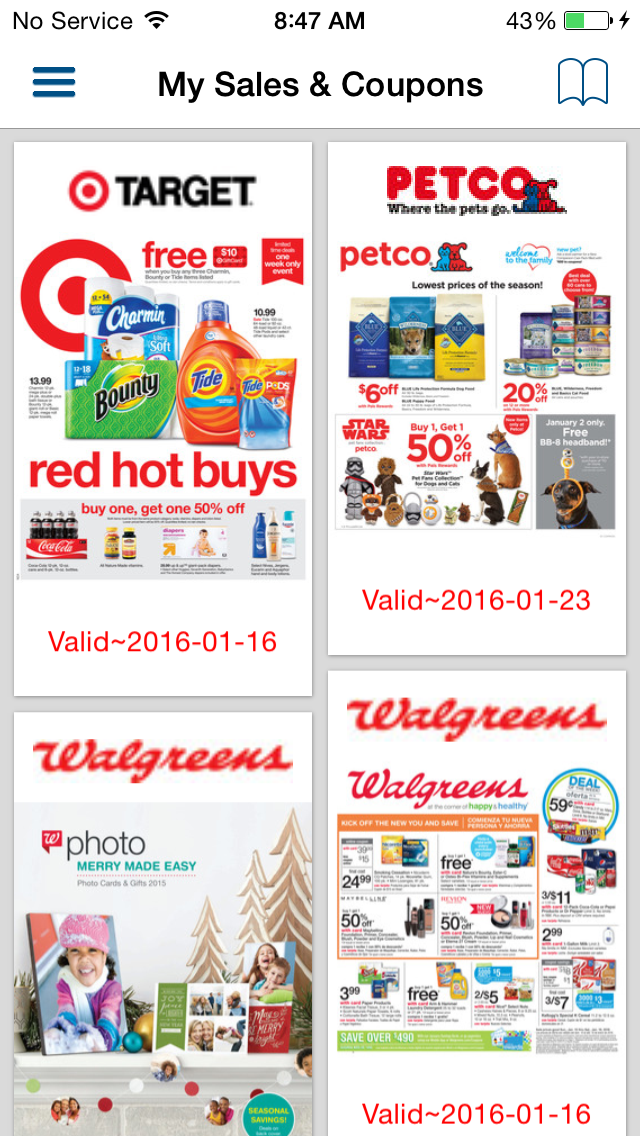 Weekly Circulars, Sales, Deals, Coupon Savings, Ads & Discounts with Shopping List screenshot