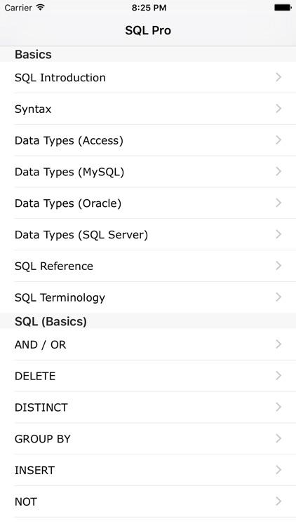 SQL Pro FREE