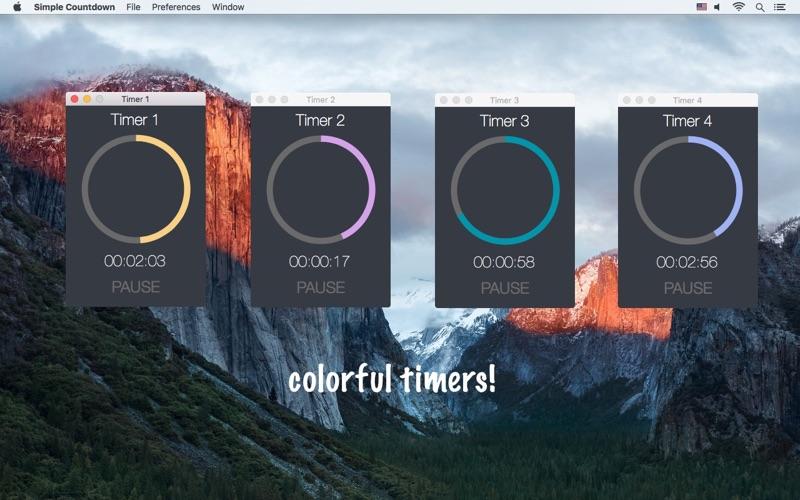 Simple Countdown - a simple countdown timer скриншот программы 5