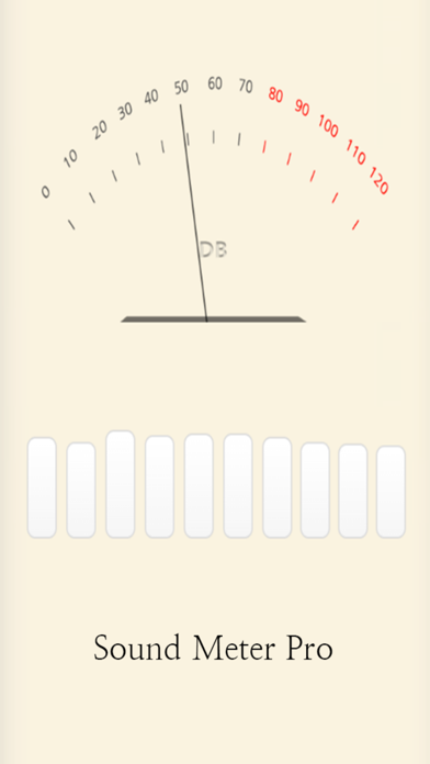 Sound Level Meter Up by lee pyoung lo (iOS, United States