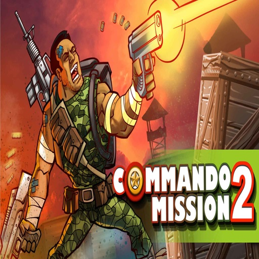Commando Mission 2: American Soldier vs. Mean Guerrilla Army Nation at War Game