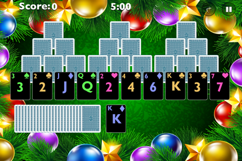 Tri Xmas Tree Solitaire screenshot 4