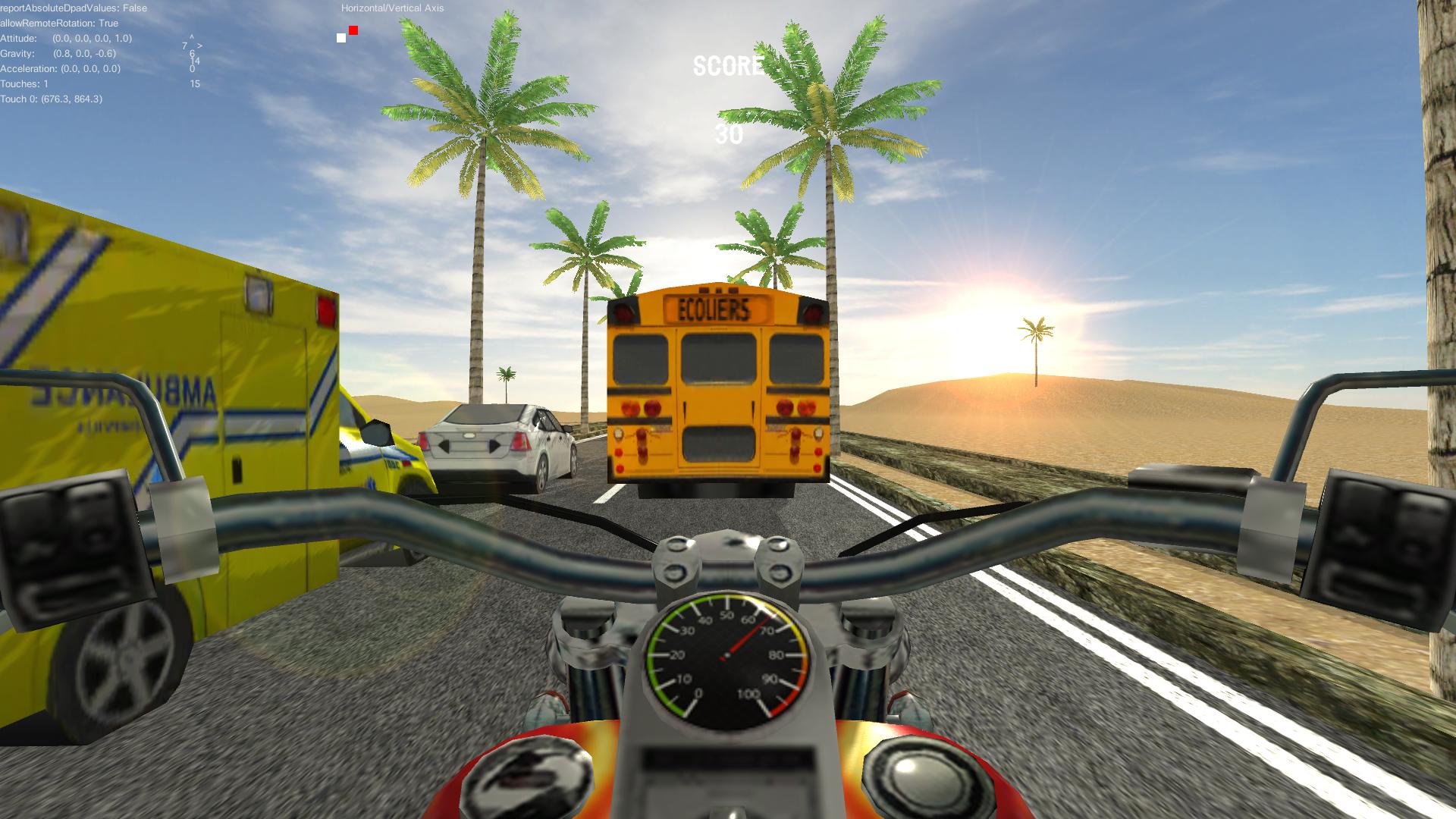 Biker Run screenshot 1