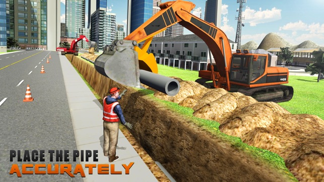 Heavy Excavator Crane Simulator 3D – A PRO construction truck driver