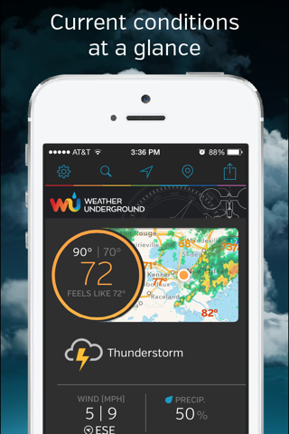 Weather Underground: Forecast screenshot 1