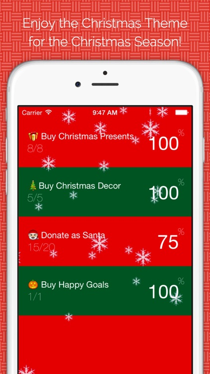 Happy Goals - Habits & Goal Tracker