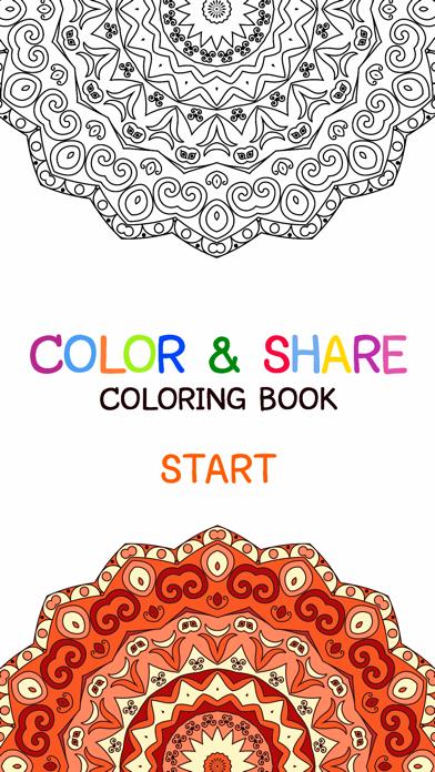 Libro Para Colorear De Mandala - Gratis Adulto Colores Páginas Del Alivio De Tensión Libre De TerapiaCaptura de pantalla de1