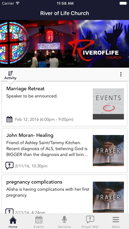 River of Life Church App