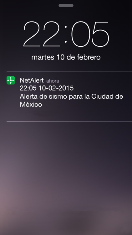NetAlert: Earthquake early warnings for Mexico City screenshot-4