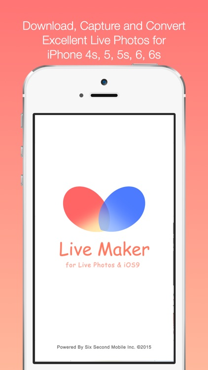 LiveMaker Free - for Live Photo