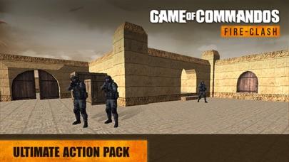 Game Of Commandos : Fire Clash screenshot four