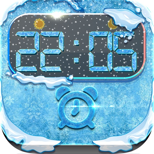 iClock – Frozen & Winter : Alarm Clock Wallpapers , Frames and Quotes Maker For Pro