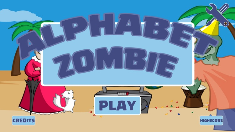 Alphabet Zombie - Kids Learn Reading Game