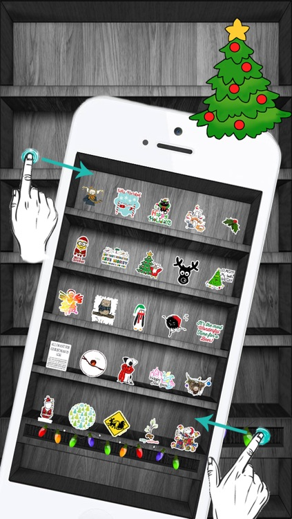 Christmas & Winter Holiday Stickers Pro !