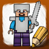 How To Draw For Lego Minecraft Heroes