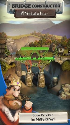 Bridge Constructor Mittelalter Screenshot