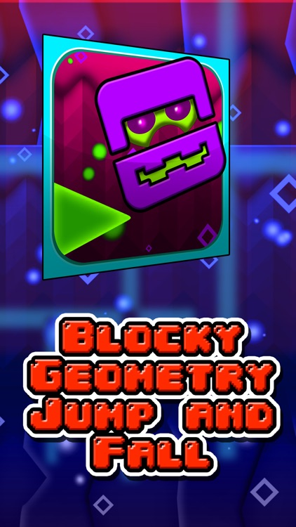 Blocky Geometry Jump and Fall