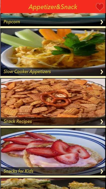 3000+ Appetizer & Snack Recipe