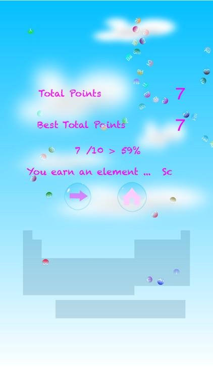 Periodic Table of Elements Bubble Pop Free screenshot-4