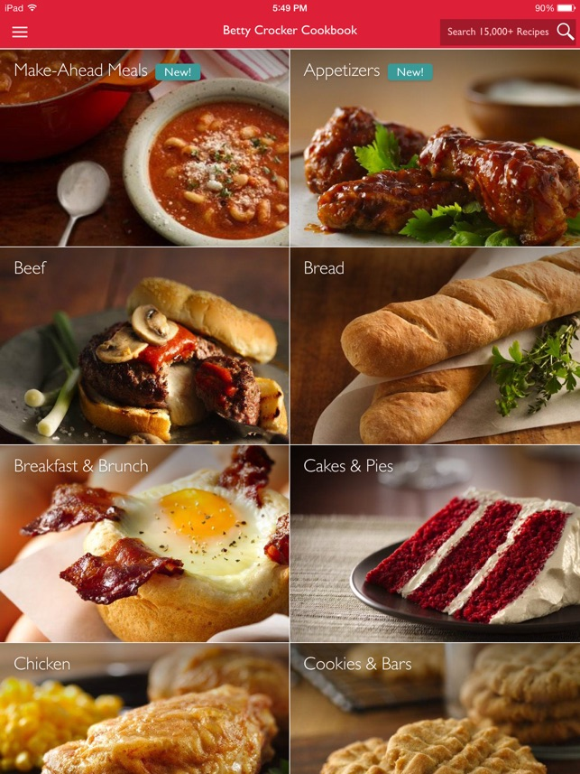 The betty crocker cookbook kitchen tested recipes on the app store forumfinder Choice Image