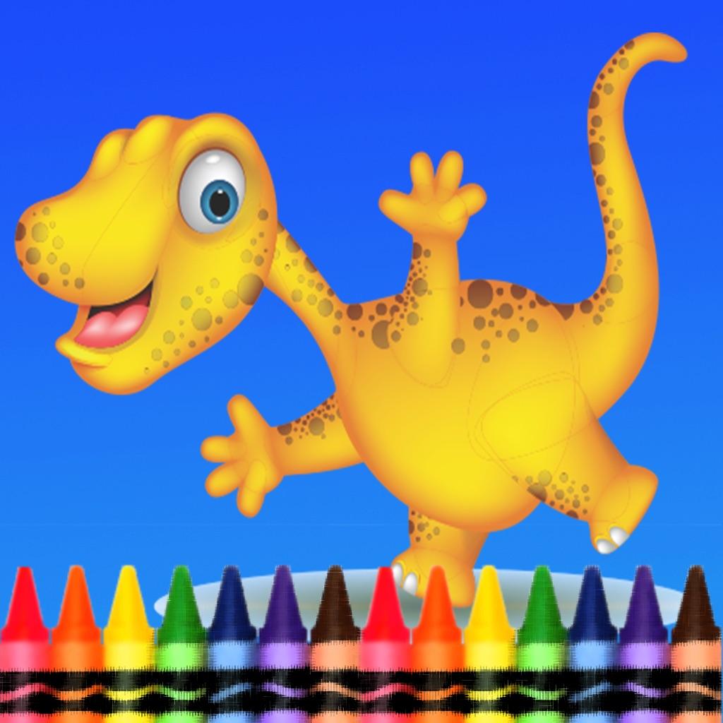 раскраска для мальчиков динозавры