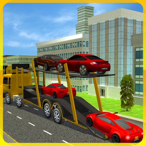 Real City Car Transporter Truck Driver 2016
