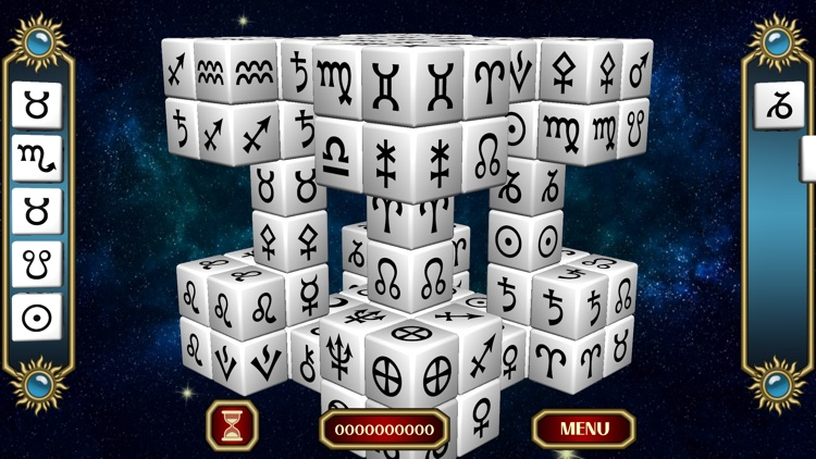 Horoscope Biorhythm Mahjong screenshot-1