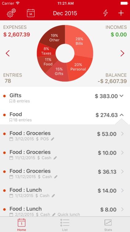 BudgetPal screenshot-0