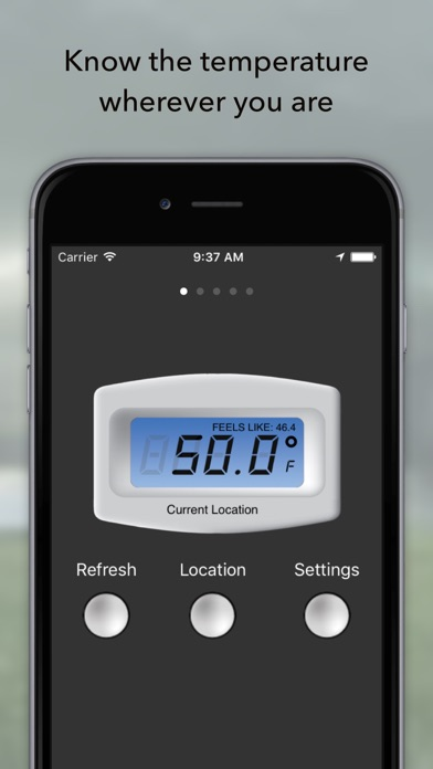Free Digital Temperature Screenshot
