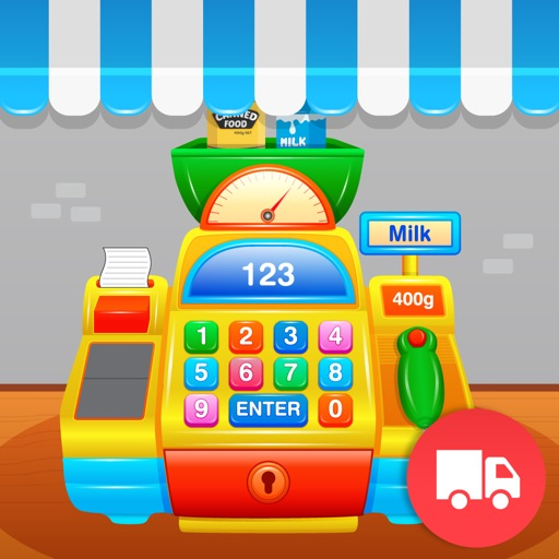 My First Cash Register Lite - Store Shopping Pretend Play for Toddlers and Kids