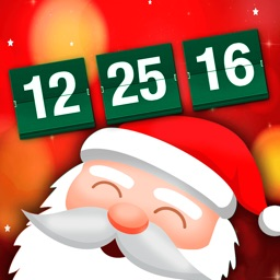 Santa's Merry Christmas Countdown Timer