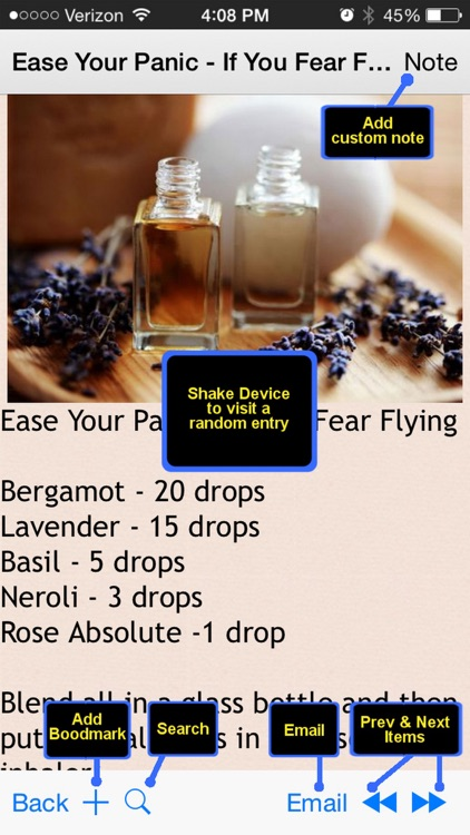 600 Essential Oil & Aromatherapy Recipes screenshot-4