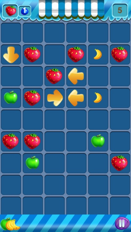 Fruit Diminshing Free - A Cute Puzzle Game