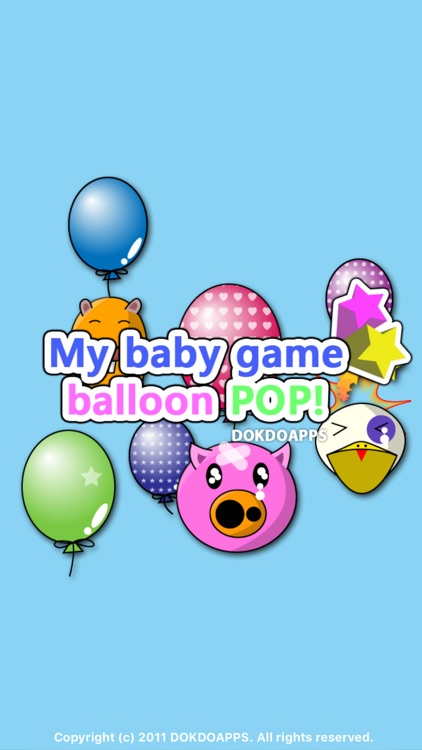 My baby game (Balloon Pop)