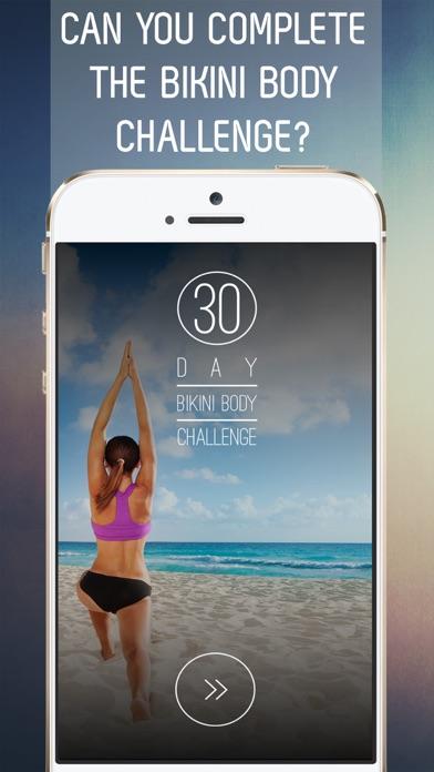 30 Day Bikini Body Workout Challenge for Full Body Tone Screenshot 1