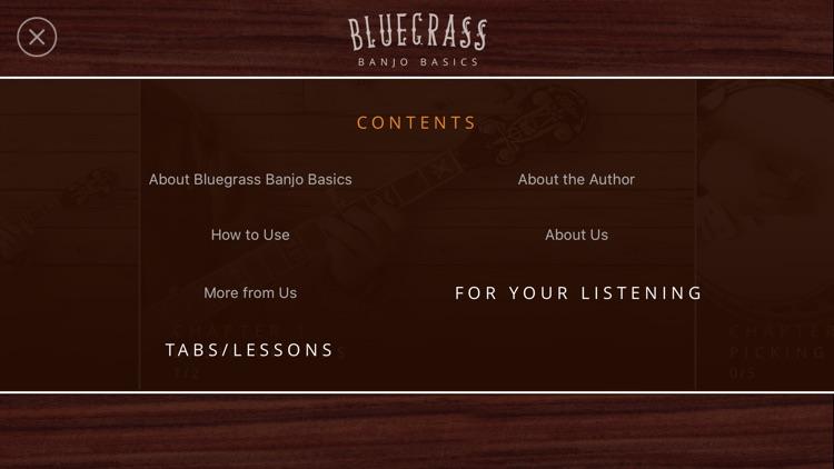 Bluegrass Banjo Basics screenshot-4
