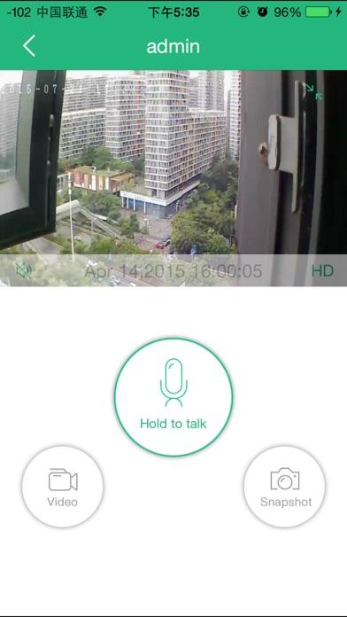 Mi-Cam Screenshot on iOS