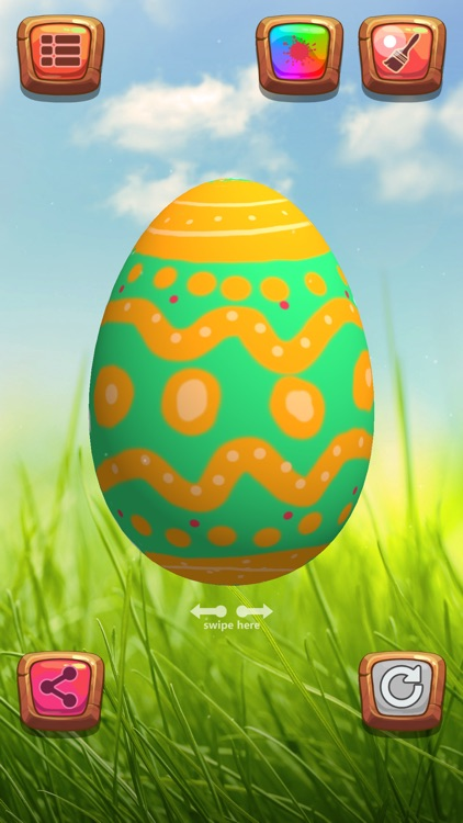 Easter Egg Hunt Colouring - Fun Game For Boys and Girls Kids Edition screenshot-4