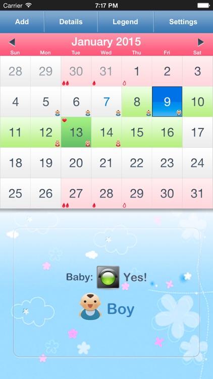 Menstrual Calendar & Tracker