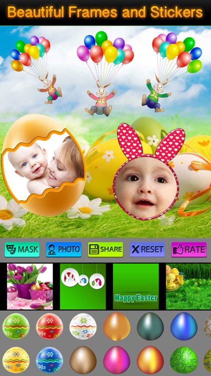 Easter Photo Frames and Icons