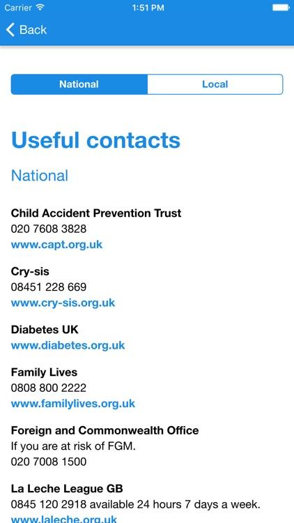 Child Health Guide Newham screenshot-3
