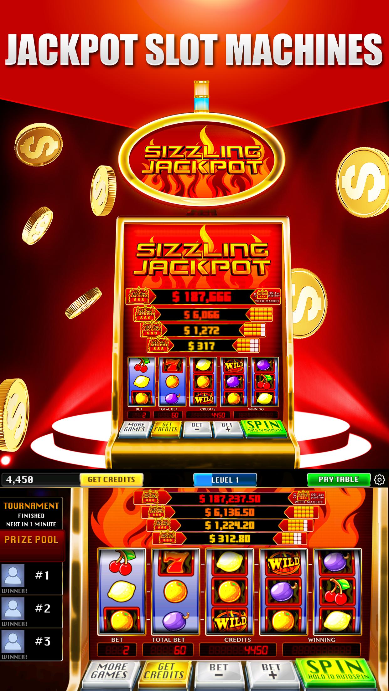 Real Vegas Slots - Casino Slot Machine Games Screenshot