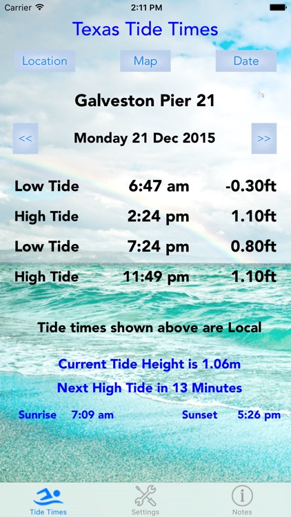 Texas Tide Times screenshot-0