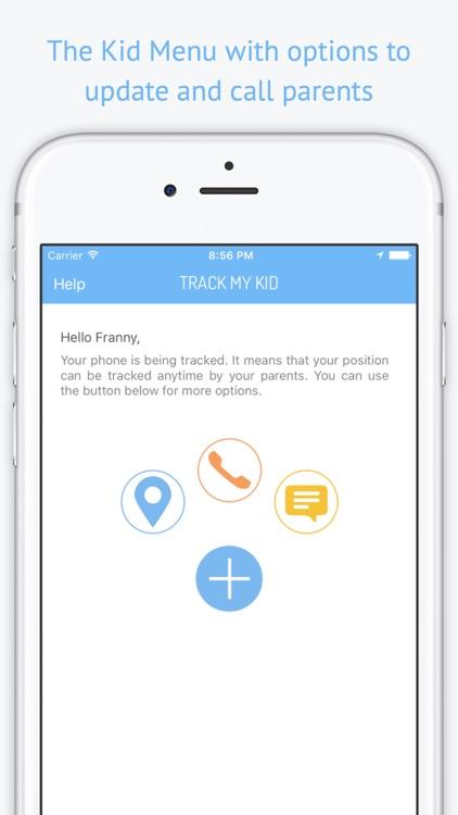 Track My Kid  - GPS localizer screenshot-3