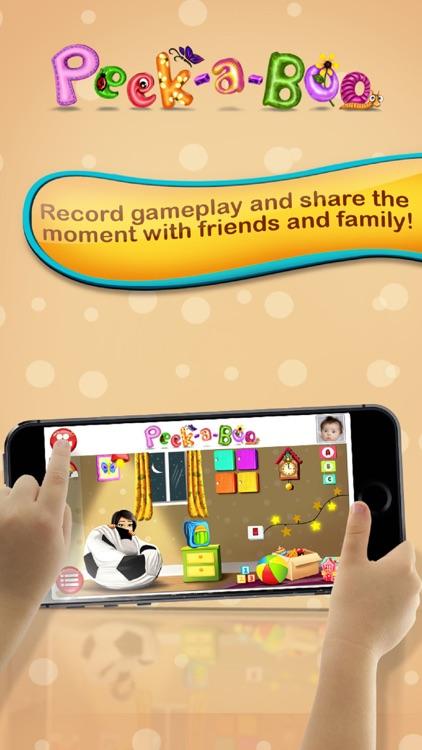 Peekaboo I see You – Educating discovery playground for preschooler baby to Kids screenshot-3